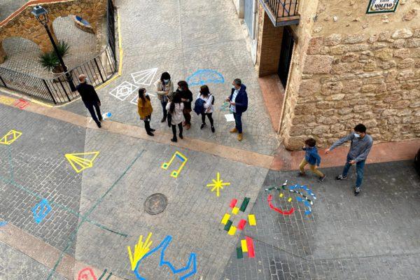 Grafitis e historia en la jornada ¡Patrimonio eres tú! de Geldo (10)
