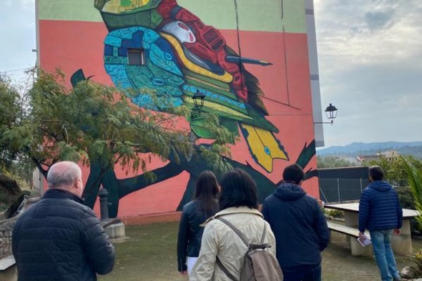 Grafitis e historia en la jornada ¡Patrimonio eres tú! de Geldo (3)