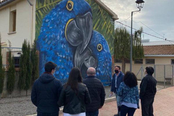 Grafitis e historia en la jornada ¡Patrimonio eres tú! de Geldo (4)