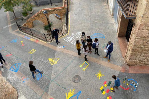 Grafitis e historia en la jornada ¡Patrimonio eres tú! de Geldo (7)