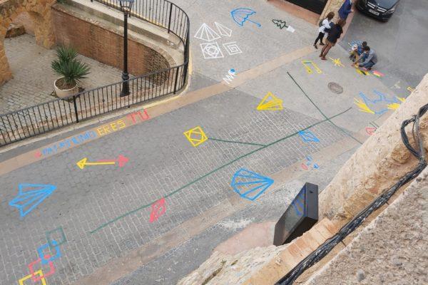 Grafitis e historia en la jornada ¡Patrimonio eres tú! de Geldo (9)
